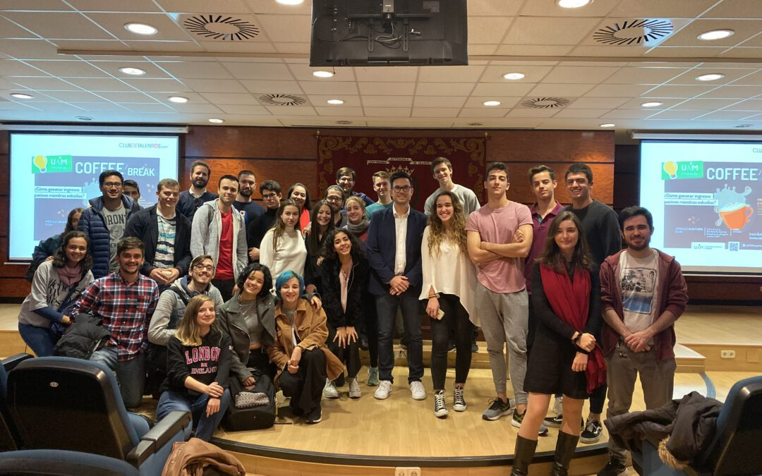 Charla sobre la generación de Ingresos Pasivos en la Universidad Autónoma de Madrid
